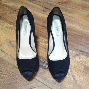 Prada high heel open toe